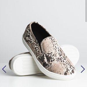 Slip On Snake Shoe